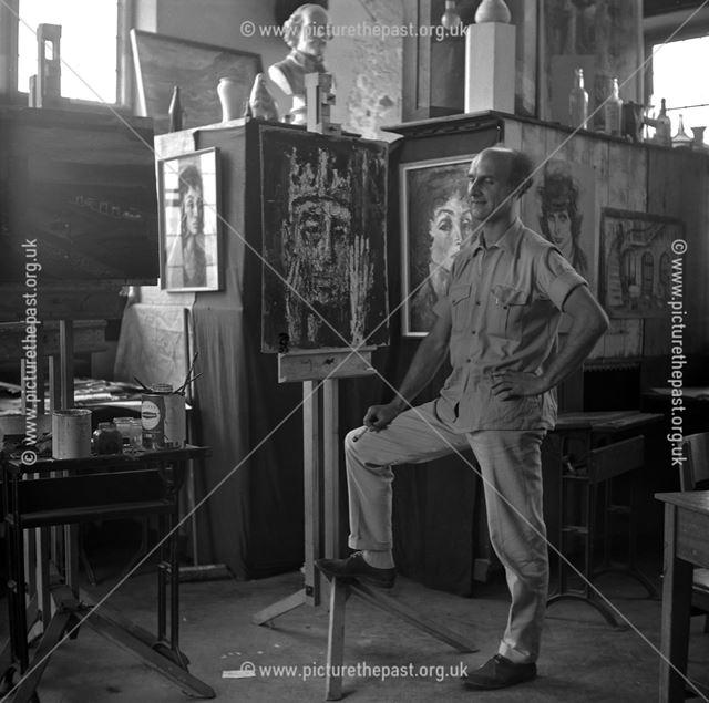 Portrait of ??, Herbert Strutt School, Derby Road, Belper, 1960