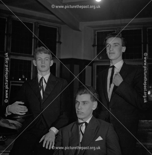 Portrait of Characters from 'Our Town', Herbert Strutt School, Derby Road, Belper, c 1960s ?