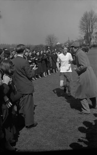 Cross Country, Herbert Strutt School, Derby Road, Belper, 1958