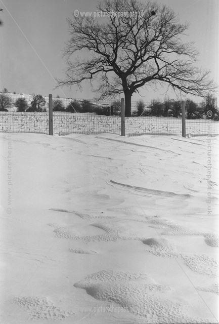 Snowly Field, Herbert Strutt School, Derby Road, Belper, c 1958