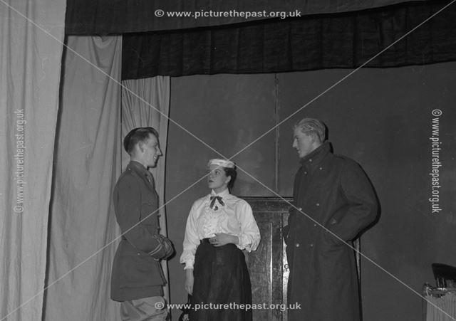 Play at Herbert Strutt School, Derby Road, Belper, c 1958