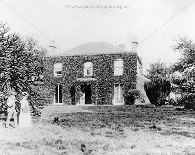 Flamstead House Farm, Flamstead Lane, Denby, 1898