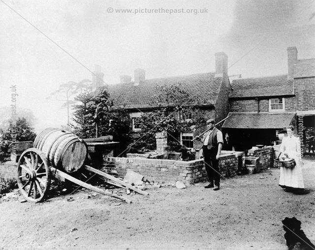 Samuel Woolley, Tenant of Hill Farm, Denby, 1898