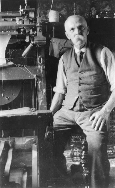 Mr Gillott of Dam Cottage, Furnace Lane, Loscoe, 1900s