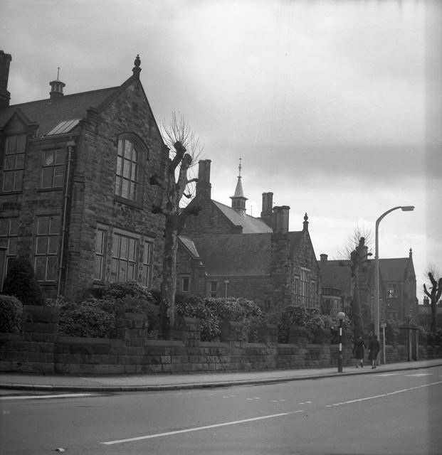 Herbert Strutt School, Derby Road, Belper, c 1960s