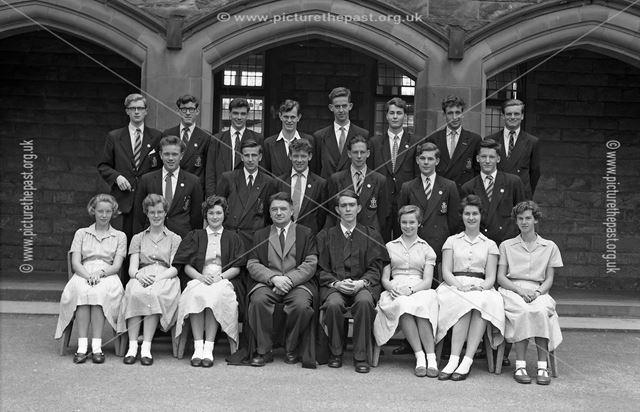 Class Portrait?, Herbert Strutt School, Derby Road, Belper, c 1960s