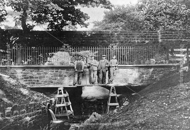 Workmen in the Serpentine