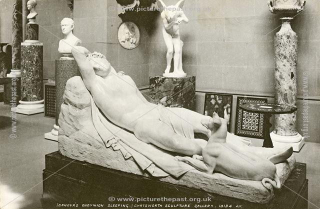 Sculpture gallery - Endymion sleeping.