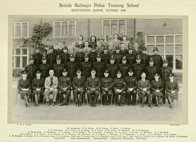 British Railways Police Training School, Derby, 1948