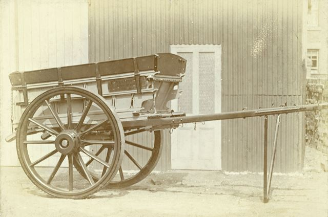 Wheeled Cart, Long Eaton, c 1890s-1900s