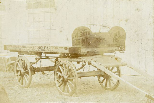 W. Smith Millers Cart, Long Eaton, c 1890s - 1900s