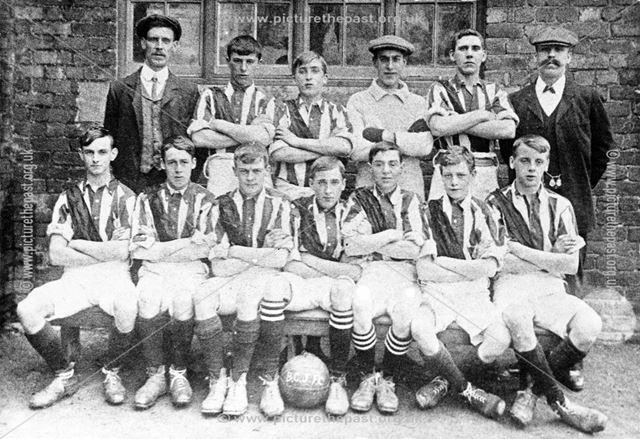 Bolsover Colliery Junior Football Team