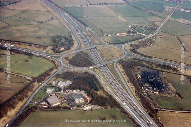 M1motorway, junction 29