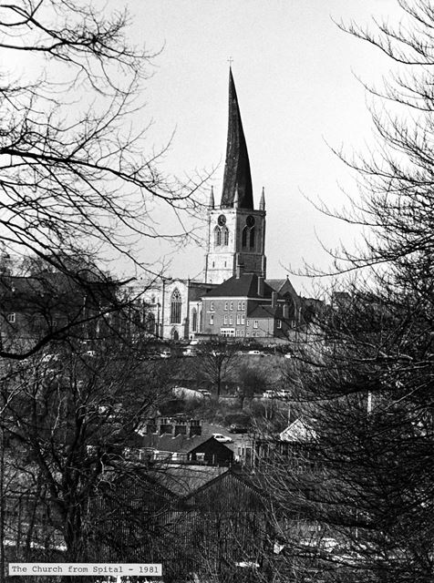 St Mary's and All Saints' - Chesterfield Parish Church