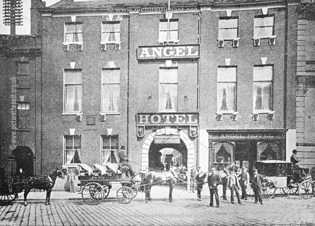 The Angel Hotel, 1902