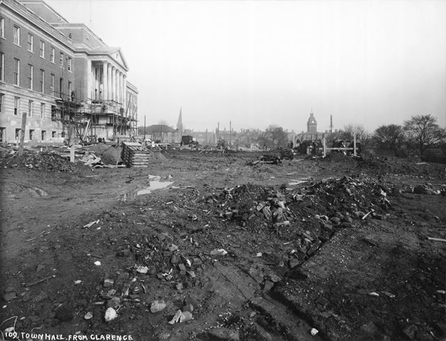 Construction of the Town Hall