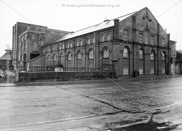 Brampton Brewery, Chatsworth Road, Brampton, Chesterfield, 1980
