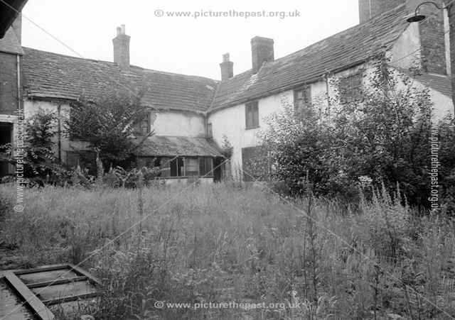 Rear of no.2, St Mary's Gate, former Heathcote family residence