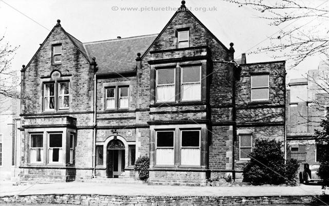 Field House, Bradbury Hall, Chatsworth Road, Brampton, Chesterfield, 1969