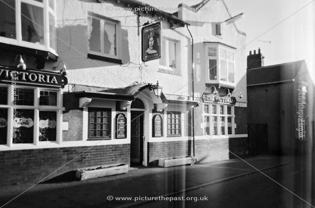 Exterior at Victoria Inn, Victoria Street, Brampton, Chesterfield, 2004