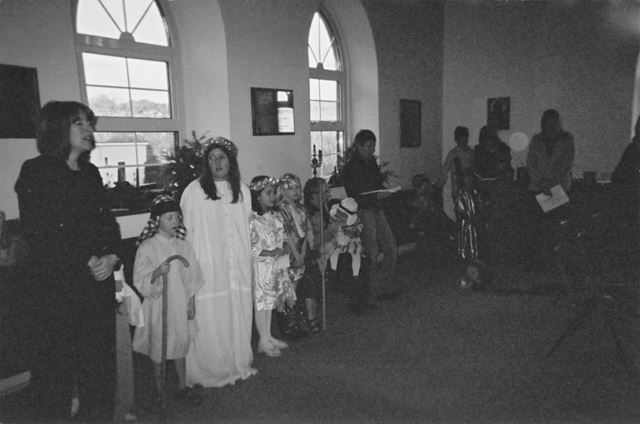Nativity Play at St Peter's Church, Cotton Mill Hill, Holymoorside, Chesterfield, 2004