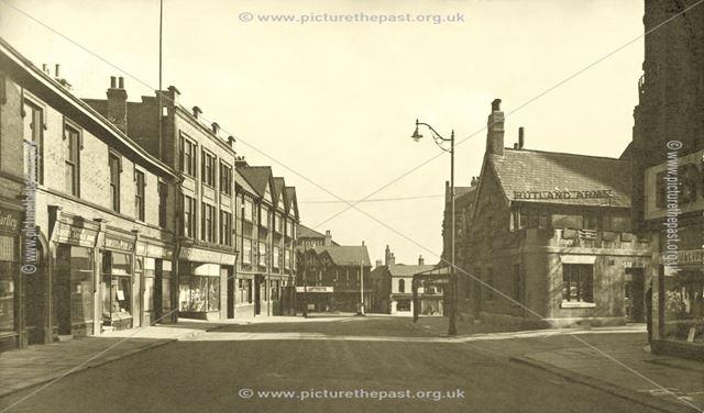 Stephenson Place, Chesterfield, c 1950?