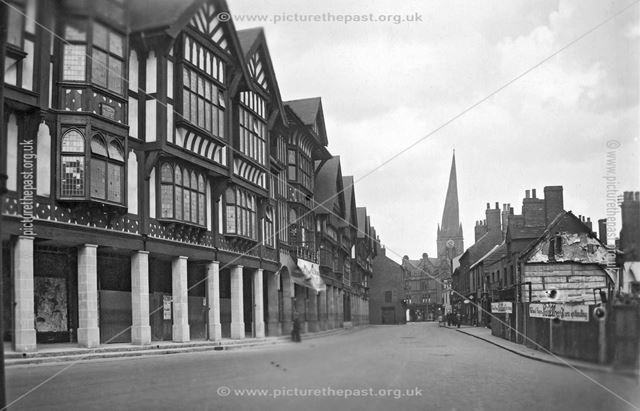 Knifesmith Gate, Chesterfield, c 1930s