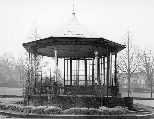 Bandstand, Queen's Park, Chesterfield, 1978