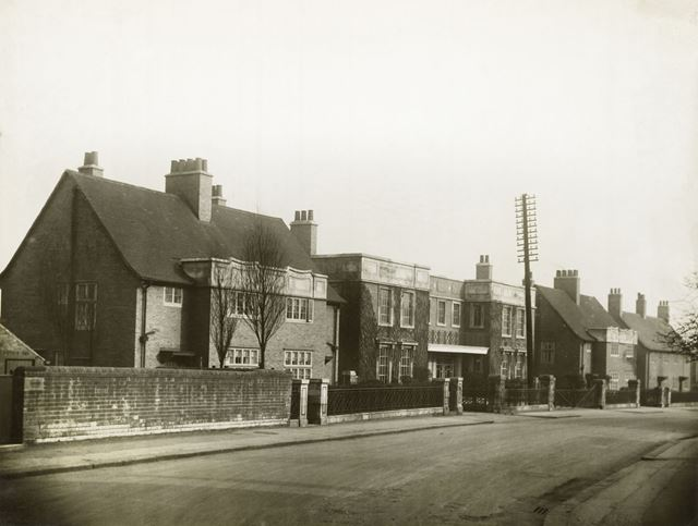 Miners Rescue Station and Cottages, Infirmary Road, Chesterfield, 1930s