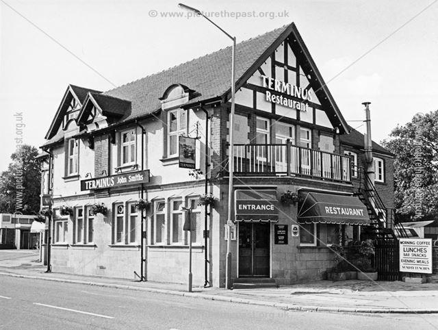 Terminus Hotel, Brookside, Chesterfield, 1983