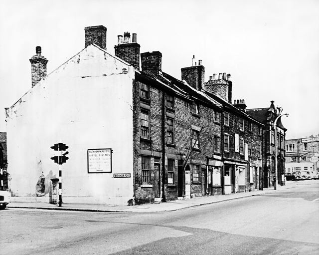 Nos 25-31, Lordsmill Street, Chesterfield, 1959