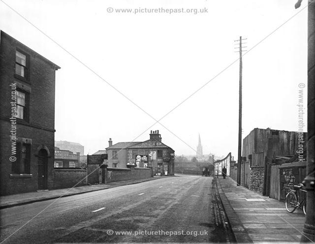 Lordsmill Street, Chesterfield, c 1930s