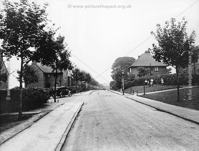 Sycamore Avenue, Boythorpe, Chesterfield, c 1930s