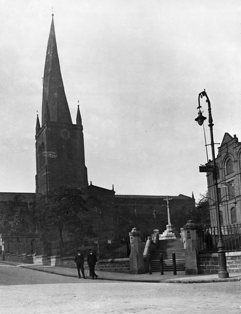 St Mary and All Saint's Parish Church, St Mary's Gate, Chesterfield, 1920