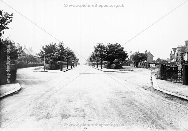Boythorpe Crescent, Chesterfield, c 1930s
