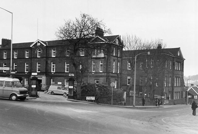 Chesterfield Royal Hospital, Durrant Road, Chesterfield, 1978