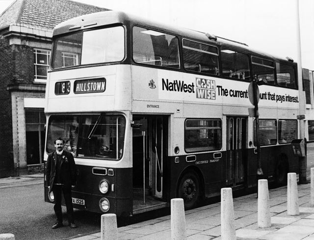 Chesterfield Transport Bus, Chesterfield, 1984
