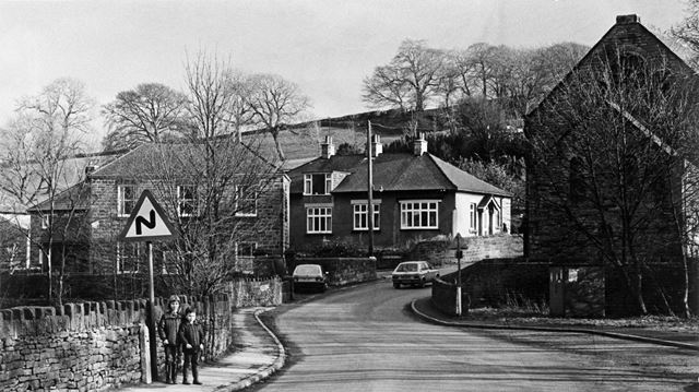 Cotton Mill Hill, Holymoorside, Chesterfield, 1984
