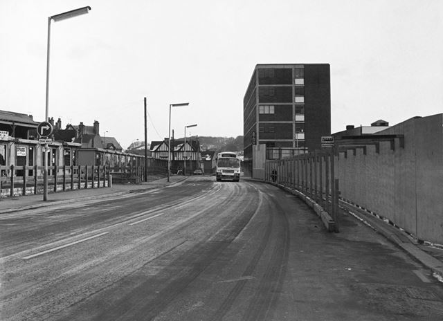 Bus Station, Beetwell Street, Chesterfield, 1978
