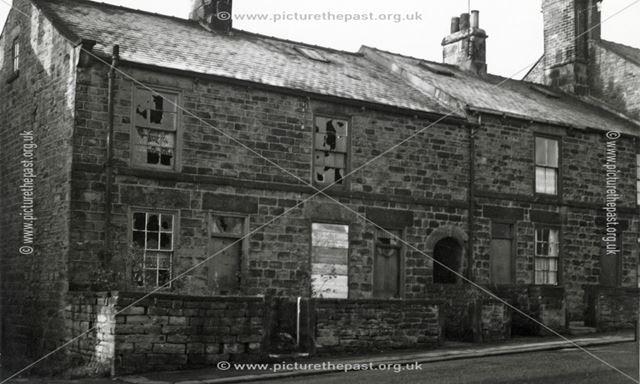 Housing Prior to Demolition, London Street, New Whittington, Chesterfield, 1973