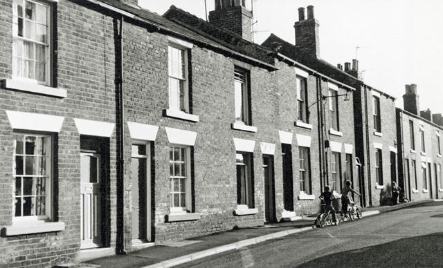 Housing Prior to Demolition, Cross London Street, New Whittington, Chesterfield, 1979