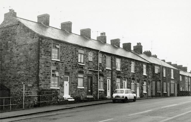 Terraced Housing, High Street, New Whittington, Chesterfield, 1979