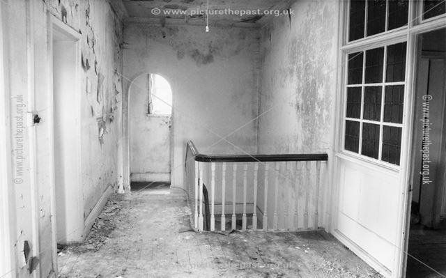 Frst Floor Landing, The Vicarage, Church Lane, Chesterfield, 1984