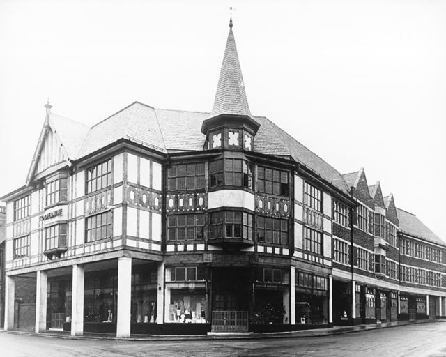 Co-op. Buildings, Elder Way, Chesterfield, c 1939