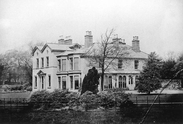 Ashgate Lodge, Chesterfield, c 1885