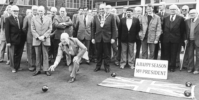 Bowling Club, New Beetwell Street, Chesterfield, 1986