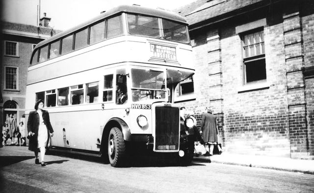 East Midlands Bus, New Beetwell Street, Chesterfield, c 1955