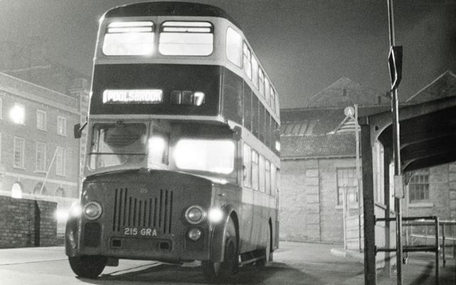 East Midlands Bus, New Beetwell Street Bus Station, Chesterfield, c 1965