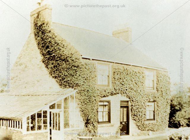 House at Westend Nurseries, Brampton, Chesterfield, c 1900