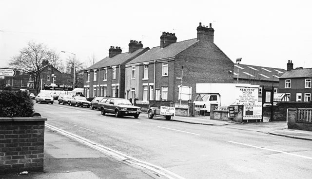 Old Road, Brampton, Chesterfield, 1988